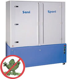 Sanisport Machine